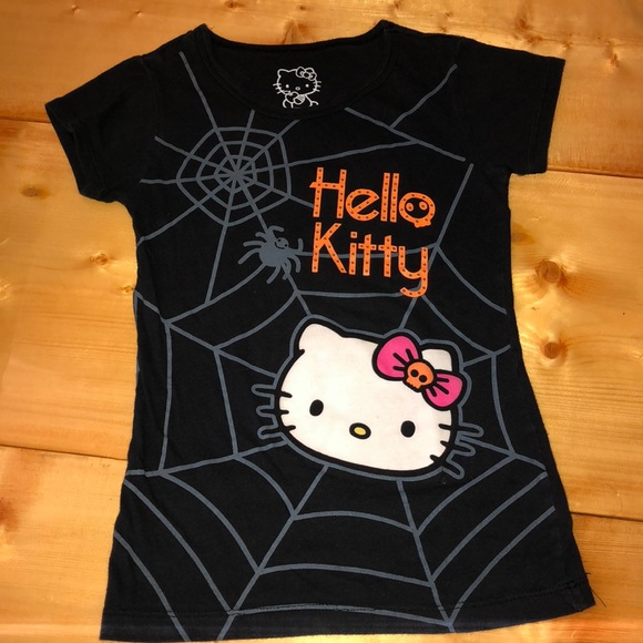 f71f000d Hello Kitty Shirts & Tops   Halloween Tshirt   Poshmark